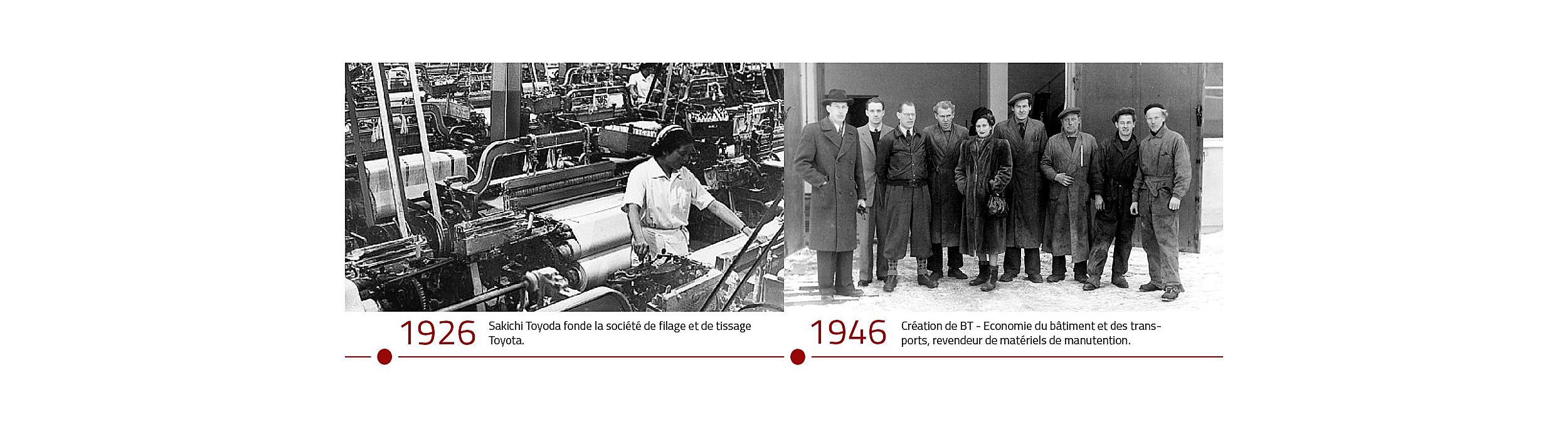 Histoire et débuts de Toyota Material Handling, spécialiste des chariots élévateurs