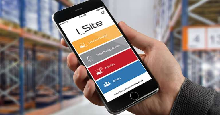 Toyota I_Site-kalustonhallintajärjestelmä