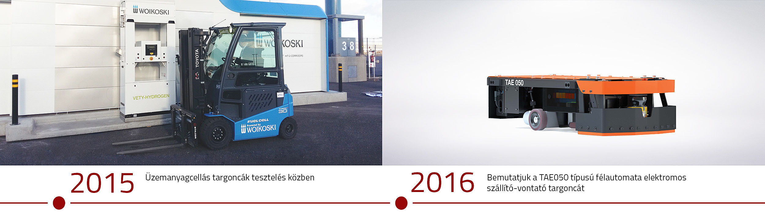 History Toyota Material Handling 2015 and 2016