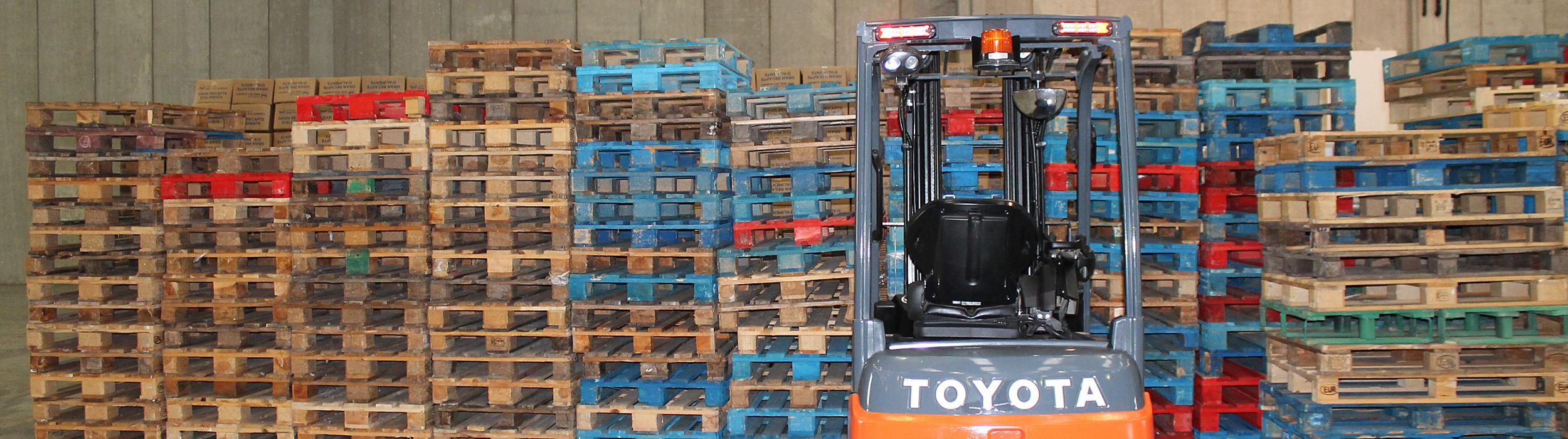 Máquina donada por Toyota para el gran recapte
