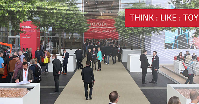 CeMAT 2018 - Think Like Toyota