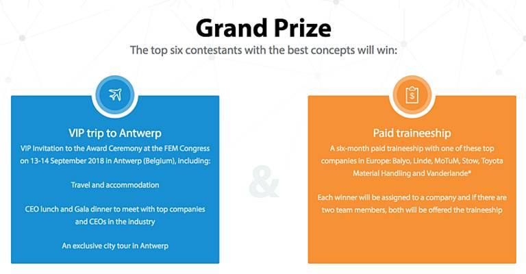 FEM student competition prizes