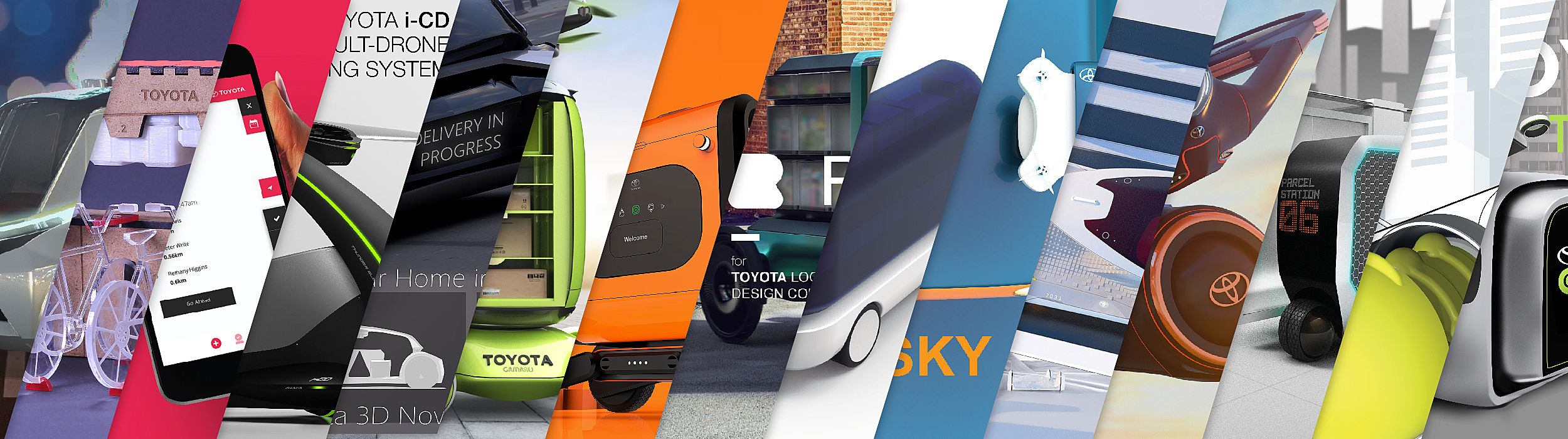 Toyota Logistic Design Competition submissions