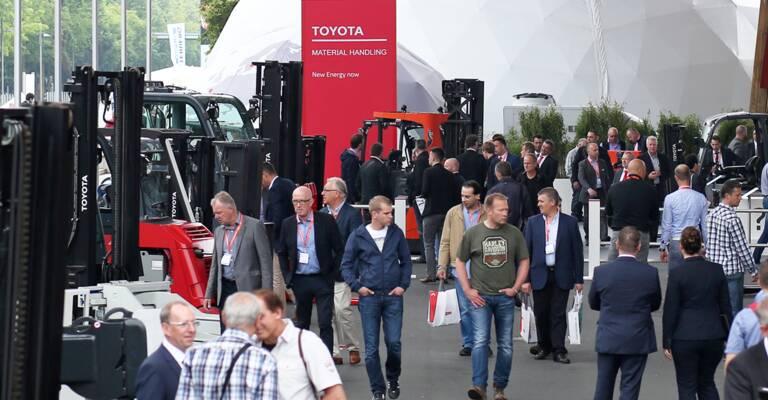 European fairs Toyota Material Handling