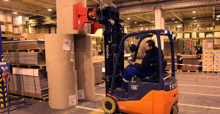 Toyota Traigo 48 obsluhuje v Papyrus Bohemia
