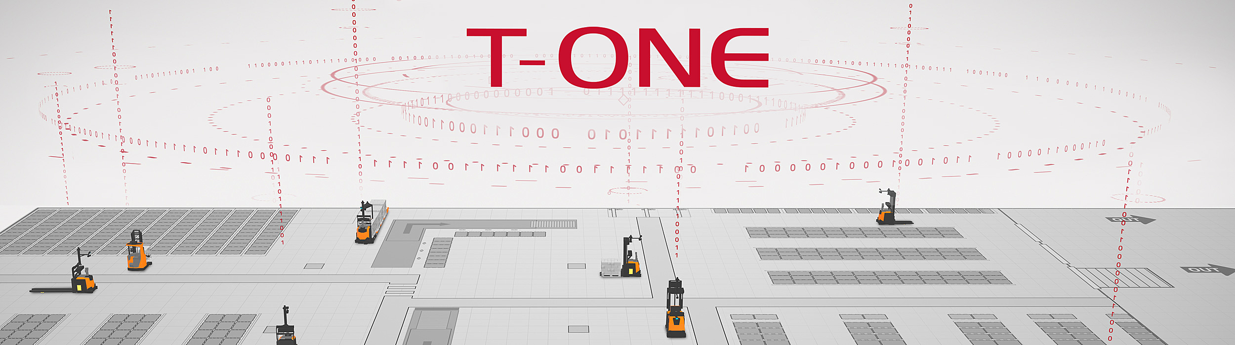 Toyota's AGV automation software T-ONE