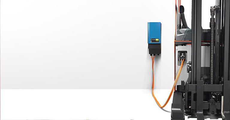 Nabíjacie li-ionové batérie pri retraku Toyota