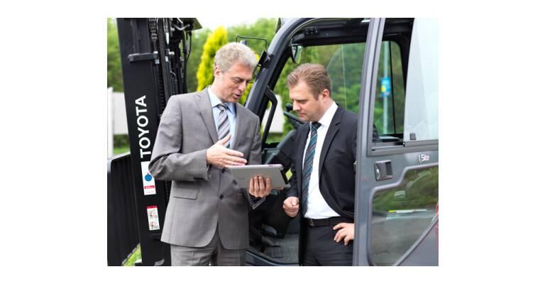Forklift site survey