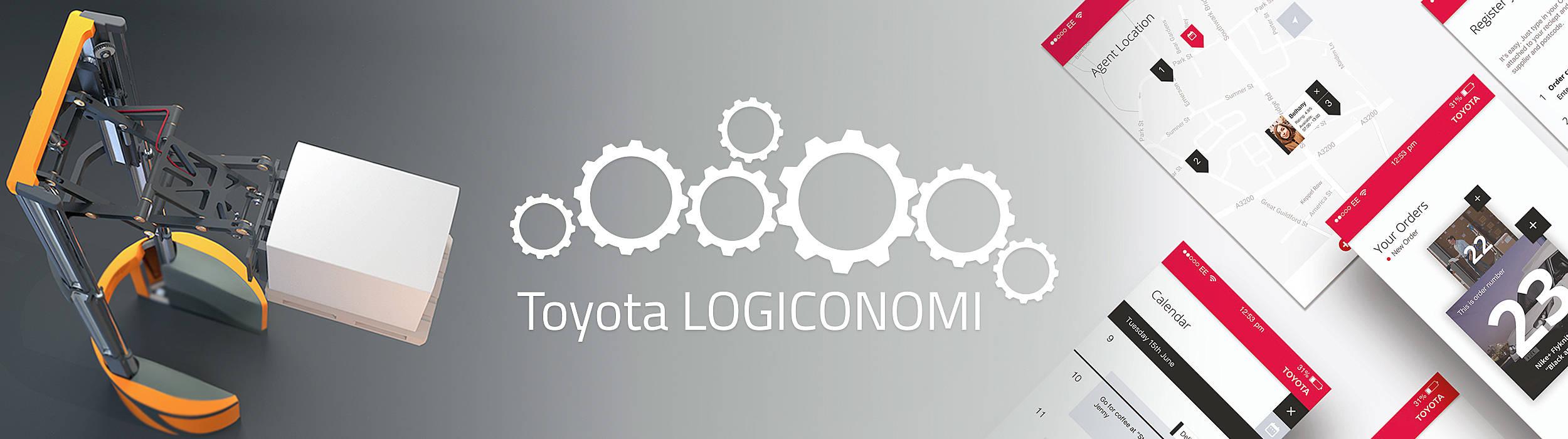 Ganadores del concepto de ingeniería y diseño logístico de Toyota