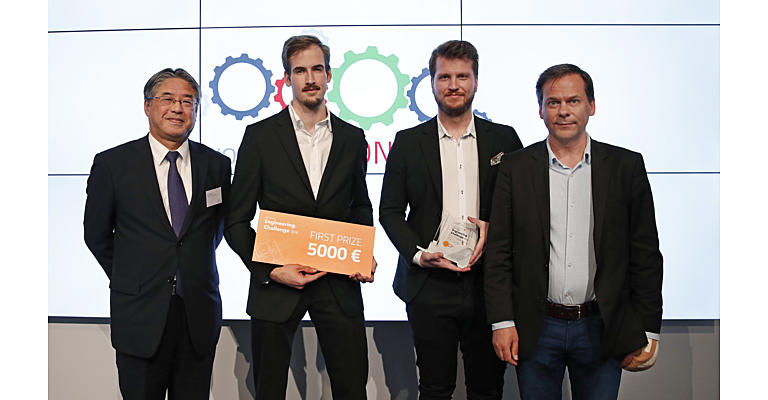 Toyota Logistic Engineering Competition winners