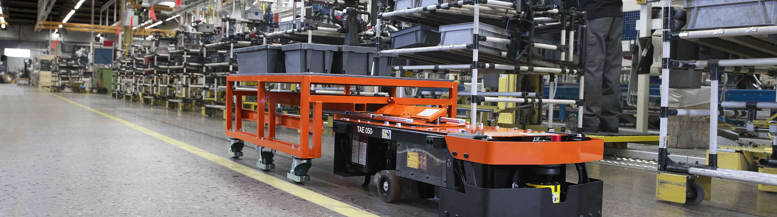 BT Autopilot TAE050 automated guided vehicle
