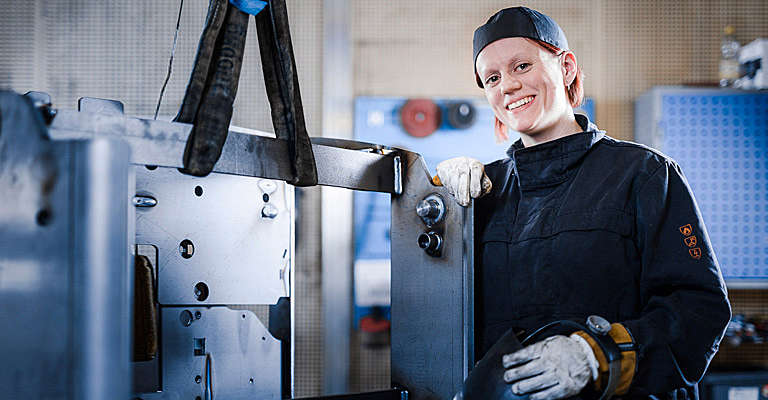 Συγκολητής σε εργοστάσιο