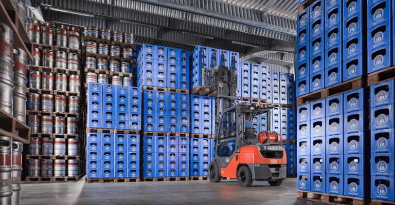 Gasstapler und Dieselstapler mit hydrostatischem Antrieb