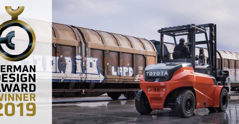 Le chariot frontal électrique Traigo 80 de Toyota Material Handling obtient le Prix Allemand du Design 2019