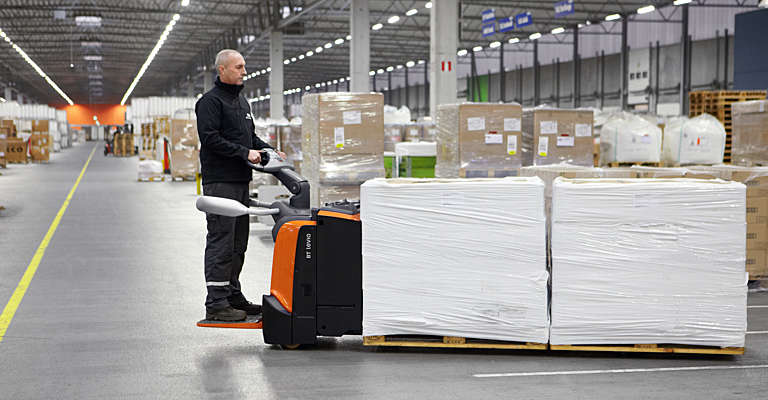 Electric powered pallet trucks BT Levio from Toyota