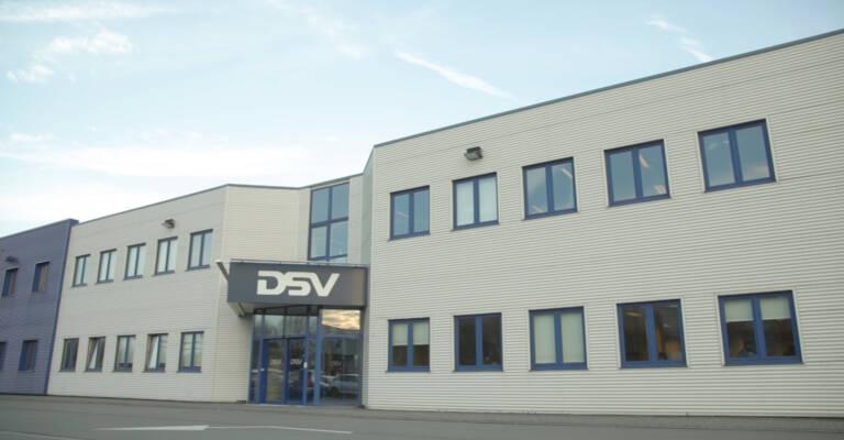 Fasad of DSV building