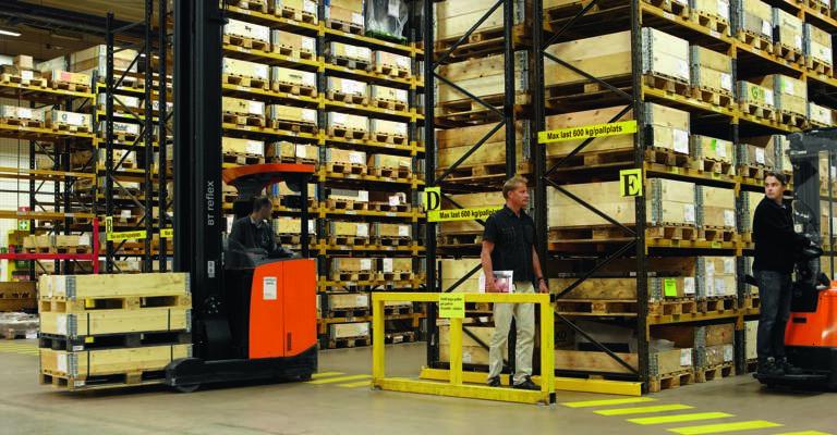 Sistemi di sicurezza in magazzino