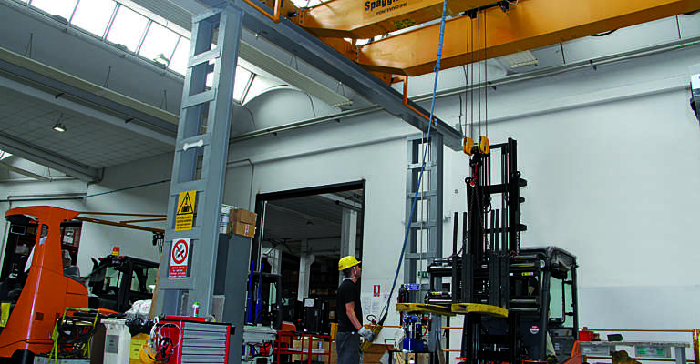 Toyota Material Handling: assistenza tecnica ad un carrello