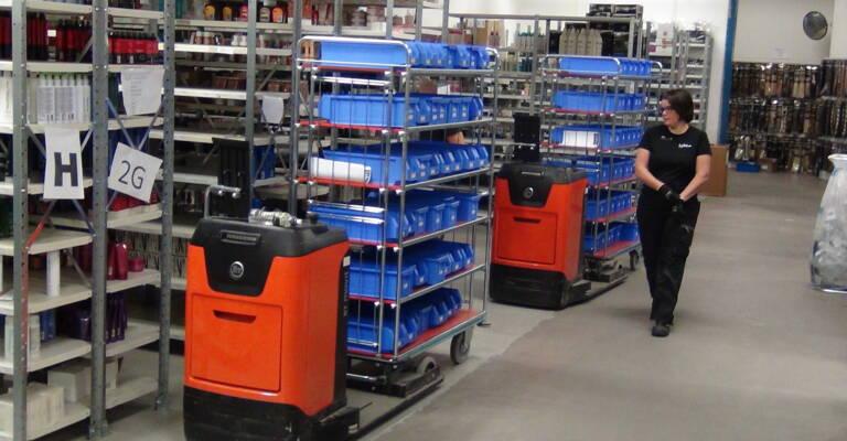 At Lyko warehouse