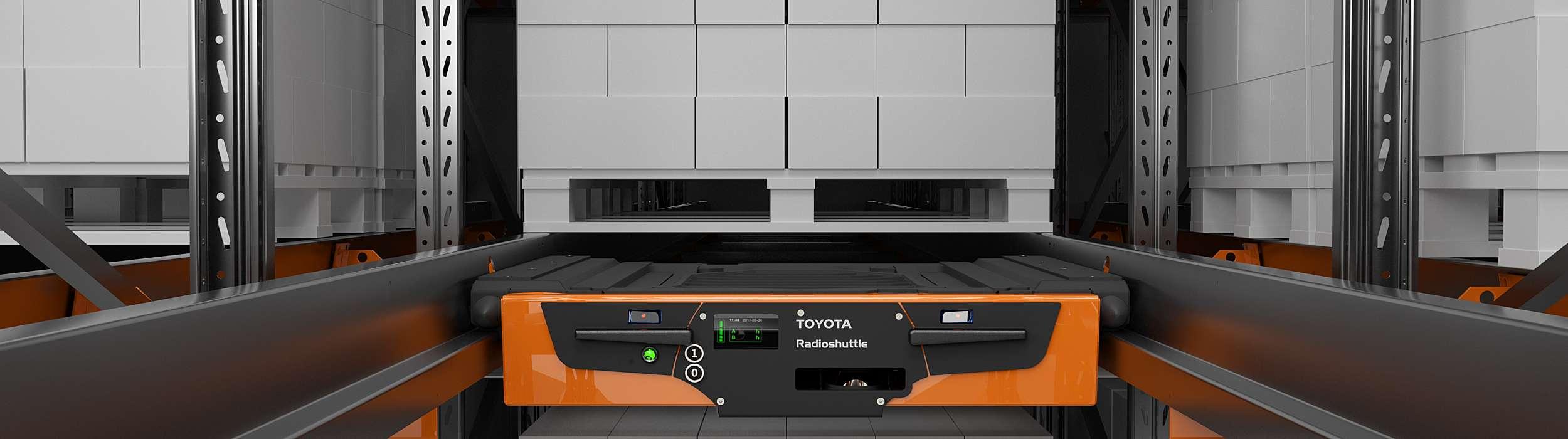 Toyota Radioshuttle ve skladu