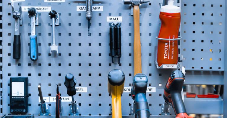 Accessoires pour entrepôt logistique