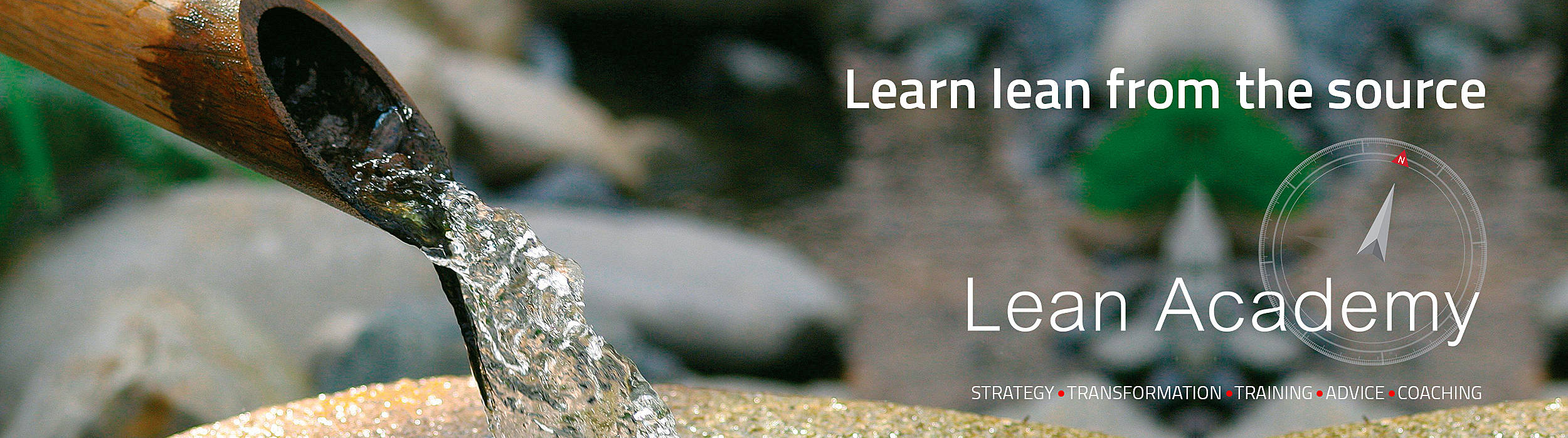 Toyota Lean Academy banner - learn lean from the source