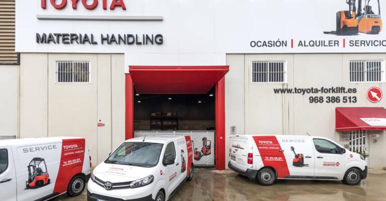 Delegación Toyota Material Handling en Murcia