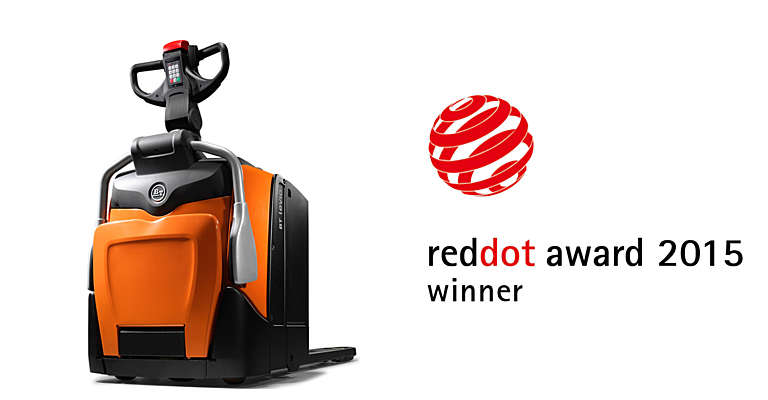 BT Levio displayed with RedDot logo
