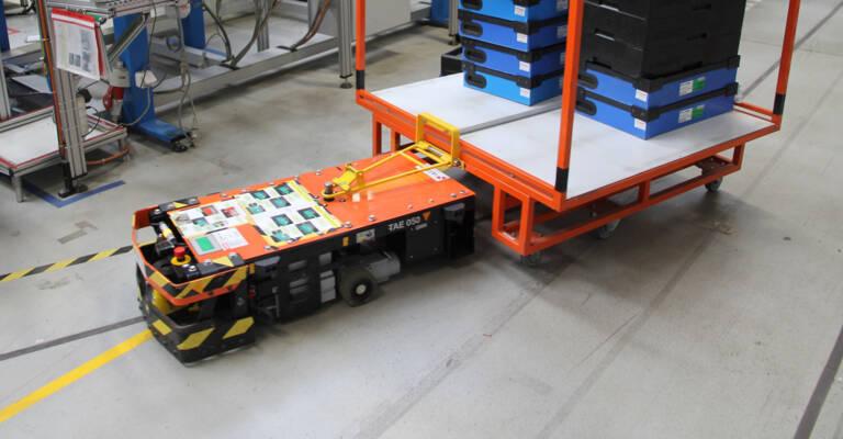 Automaticky naváděný vozík TAE050 ve Witte