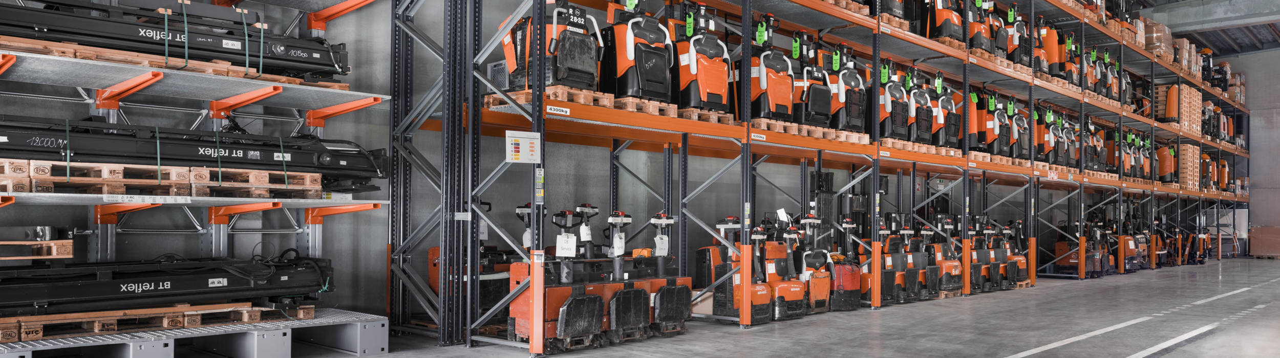 Check out our used catalogue, from warehouse trucks to counterbalanced trucks, all of them serviced and refurbished for a sustainable second life in your operation.