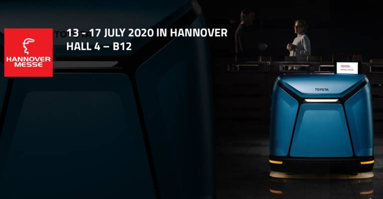 Web banner for Hannover Messe 2020