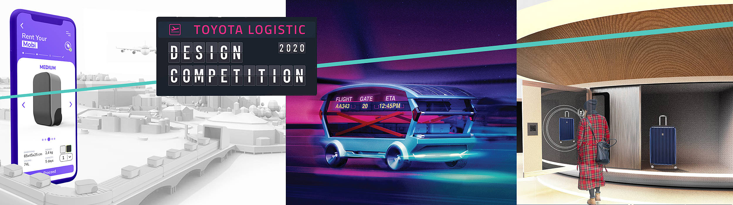 Banner Toyota Logistic Design Competition 2020