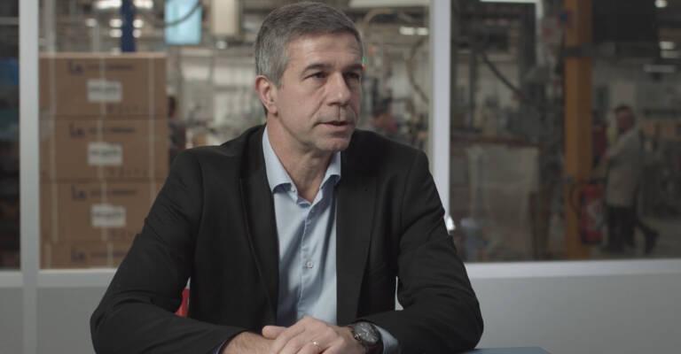 Laurent Tortrat, director industrial del almacén de Drancy
