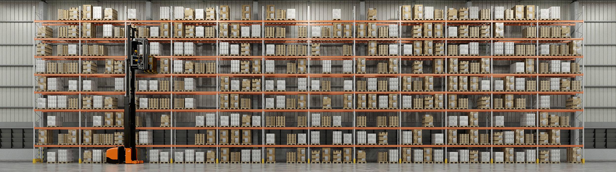 solución estanterías almacén