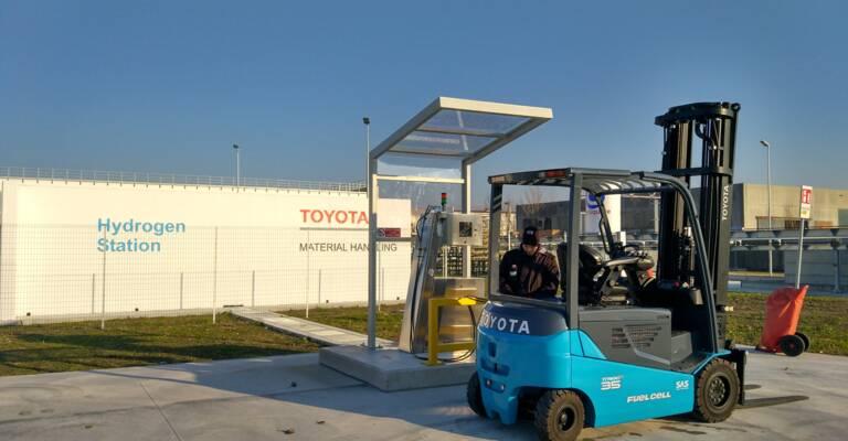 Toyota truck med brædselsceller