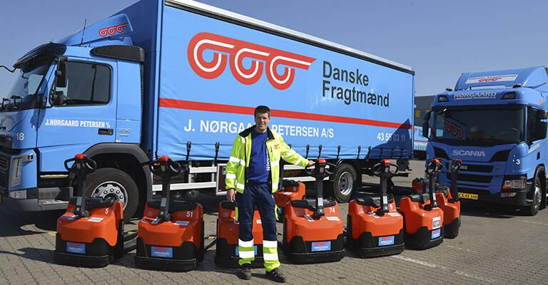 J. Nørgaard Petersen med Toyota LWi160