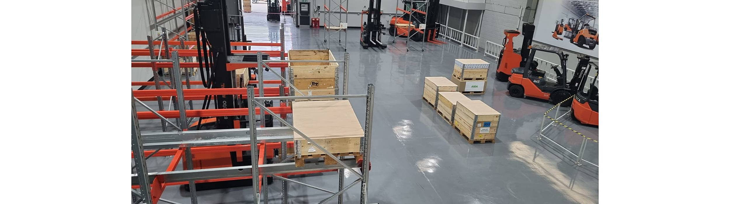 warehouse automation facility in leicester