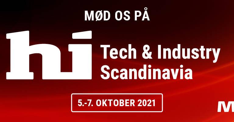 Toyota Material Handling deltager på hi Tech & Industry Scandinavia 2021