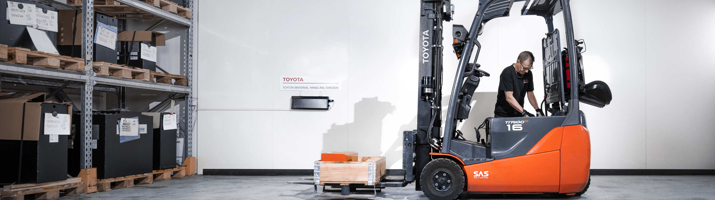Forklift repair service Toyota