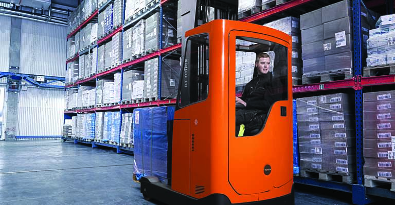 BT Reflex E-series reach truck for coldstores